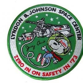 NASA - Snoopy Patch for JOHNSON SPACE CENTER '73