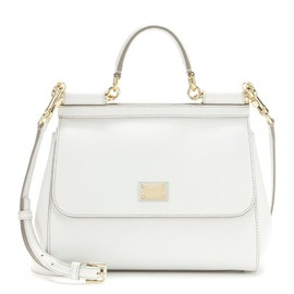 DOLCE&GABBANA - Miss Sicily Mini leather shoulder bag