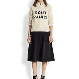 MARC BY MARC JACOBS - 'Don't Panic!' Wool Sweater