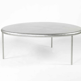 Martin Szekely - Silver table, Kreo Gallery edition of 8, 2005