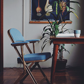 Pacific Furniture Service - CLARIN FOLDING CHAIR WITH ARM