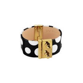 LOUIS VUITTON - Yayoi Kusama 草間彌生 Louis Vuitton Cuff Dots Infinity black