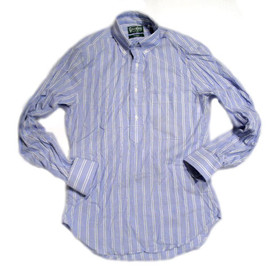 Gitman Vintage - REGULAR FIT B.D. PULLOVER SHIRTS/chambrey stripe