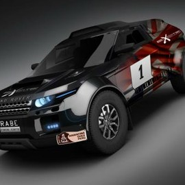 Range Rover - Evoque Rally Car