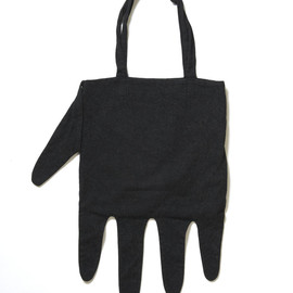 Wool Hand Shape Tote Bag