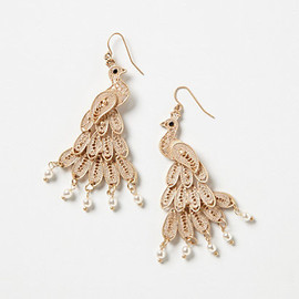 Anthropologie - Filigree Peacock Chandeliers