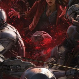 Andy Park - Scarlet Witch in Marvel's Avengers: Age of Ultron POSTER