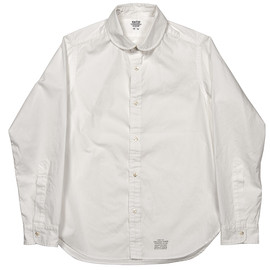 Workers - Rounded Collar White shirt, from e-workers.net