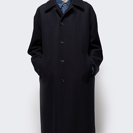 NSCO - Wool Melton Bal Collar Coat