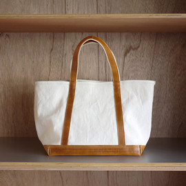 ARTS&CRAFTS - Aging Canvas Basic Tote