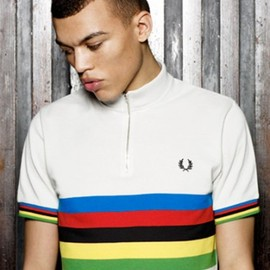 Fred Perry - BLANK CANVAS 2011: Multi Stripe Cycling Shirt