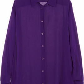 Acne - Shining crepe shirt