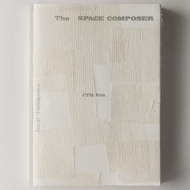 "Junji Tanigawa - JTQ 10th anniversary artist book "" The SPACE COMPOSER"""