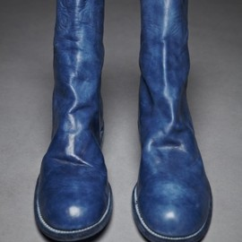 GUIDI - Horse FULL Grain Back Zip Boot