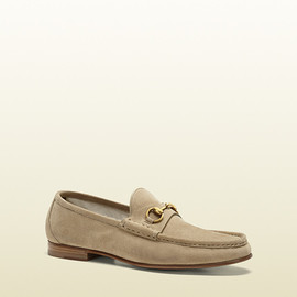 Gucci - anniversary horsebit loafer in suede
