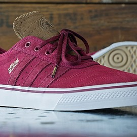 adidas skateboarding, Official, adidas - adiease - Burgundy/Brown