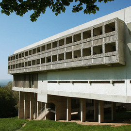 Le Corbusier - Couvent de la Tourette, Lyon, France