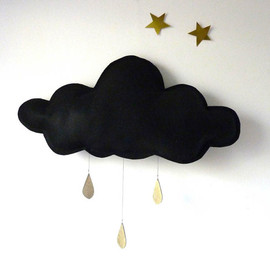 eptitpapillon - THE Big Black Rain cloud with Gold raindrops