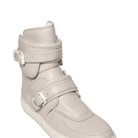 GIVENCHY - Buckled high top sneaker