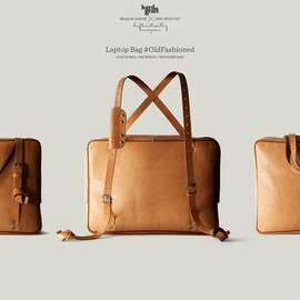 hard graft - LAPTOP BAG #OLDFASHIONED
