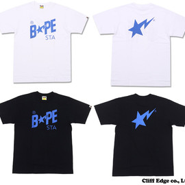 A BATHING APE - BAPESTA LAME TEE