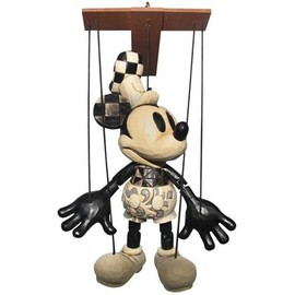 """Disney - Disney Traditions """"Steamboat Willie Marionette"""" Mickey Figurine -"""