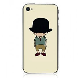 hallomall - Handsome Man Pattern iPhone4/4s Cases