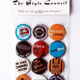 The Style Council - The Style Council 30th Anniversary Commerative Badge set in Aid of Woking Hospice