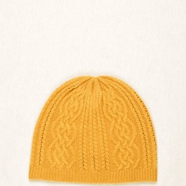 Chauncey - Cashmere cables beanie for men