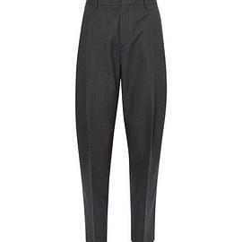 Acne Studios - Piano Tapered Pleated Worsted-Wool Trousers