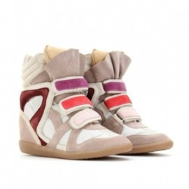 Isabel Marant -  Willow Sneaker Beige 1