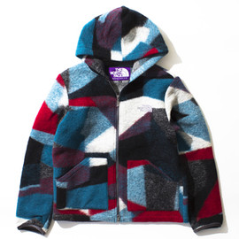 THE NORTH FACE PURPLE LABEL - Mountain Fleece Parka
