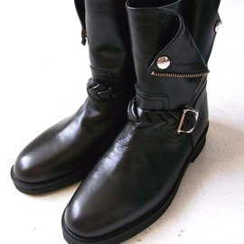 "DISCOVERED - 2009 A/W ""W RIDER'S BOOT'S """