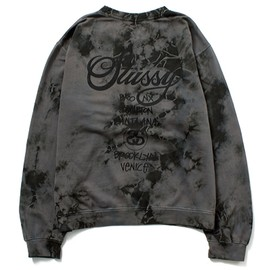Stussy - World Tour Tie Dye Crew