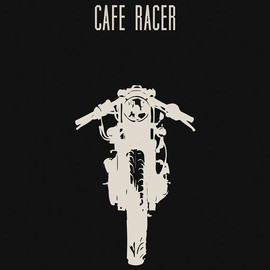 Cafe Racer Motorcycle Poster