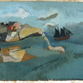 ben nicholson - cornish port