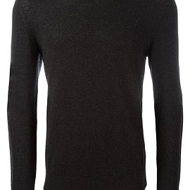 Burberry - crew neck sweatshirt