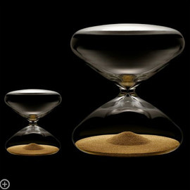 Ikepod, Marc Newson - Stainless Steel Nanoball The Hourglass