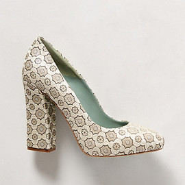 anthropologie - Surface Figure Heels