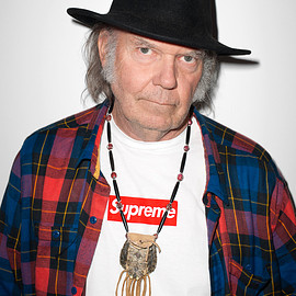 Terry Richardson - Neil Young Supreme POSTER