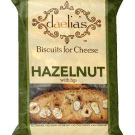 daelia's - Biscuits for Cheese HAZELNUT