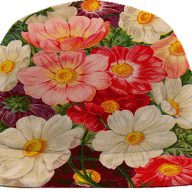PRINT ALL OVER ME - Vintage style floral display