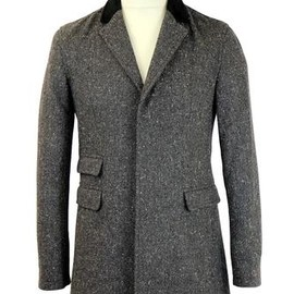 Madcap - ENGLAND RETRO MOD TOP COAT OVERCOAT GREY