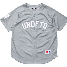 UNDEFEATED - Mesh Baseball S/S Jersey - Grey