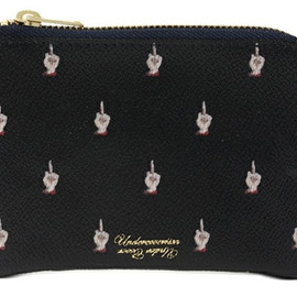 "UNDERCOVER - ""Middle Finger"" Pouches"