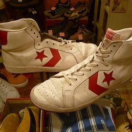 "converse - 「<used>80's converse ALLSTAR PERSUADER white/red""made in YUGOSLAVIA"" size:US10/h 16800yen」完売"