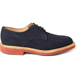 Mark McNairy New Amsterdam - Suede Derby Buck Shoes