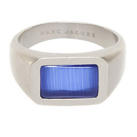 MARC JACOBS - MARC JACOBS マークジェイコブス Rectangle Stone Ring リング 指輪 SILVER