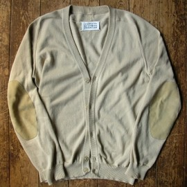 Maison Martin Margiela - elbow patch cardigan