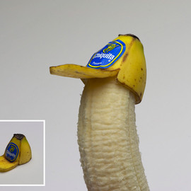 "Brock Davis - ""Banana Peel Trucker Hat (for Bananas)"""